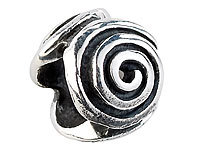 St. Leonhard Element Spirale, 925er Sterling-Silber