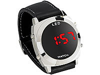 St. Leonhard Retro-moderne Digital-Armbanduhr mit LED-Technik