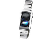 St. Leonhard Designer-Armbanduhr mit LED-Matrix (refurbished)