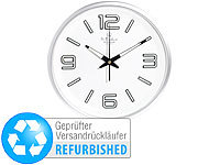 "St. Leonhard Funk-Wanduhr ""Glow-in-the-dark"", Kunststoff (refurbished)"